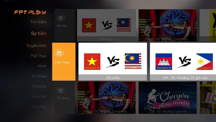 4 ứng dụng hot dành cho xem bóng đá trên tivi
