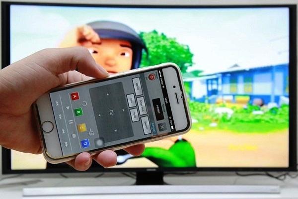 Biến Smartphone điện thoại thành điều khiển từ xa cho tivi