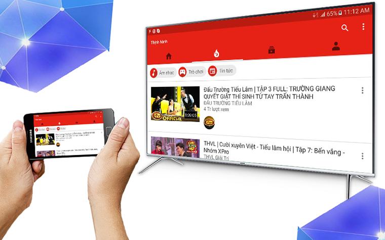 YouTube không mở được, làm sao để xem YouTube trên tivi?