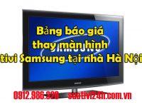 Bảng giá thay màn hình tivi samsung tại hà nội